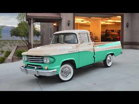 Download 1958 Dodge D100 Sweptside Pickup HD Mp4 3GP Video and MP3