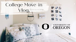College Move-in Day Vlog @ University of Oregon: Freshman Year