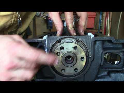 ремонт двигателя х18хе своими руками часть вторая ПРОТЯЖКА КОЛЕНВАЛА