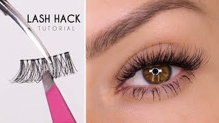 False Eyelash Hack | Easy Way To Apply Lashes | Shonagh Scott | ShowMe MakeUp