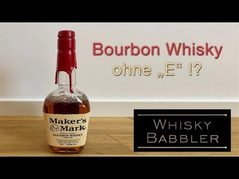 """Der Bourbon Whisky ohne """"E"""""""