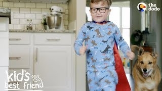 Little Boy's Best Friend In The World Is His Rescue Dog | The Dodo Kid's Best Friend