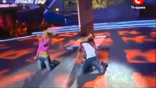 So you think you can dance 2010 (Ukraine)- Hip-hop (Marta & Sasha)