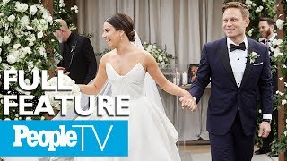 Exclusive Look Into Lea Micheles Intimate Wedding To Zandy Reich | PeopleTV