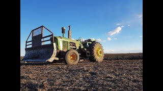 5020 harrowing and 4640 finishing the culivating!