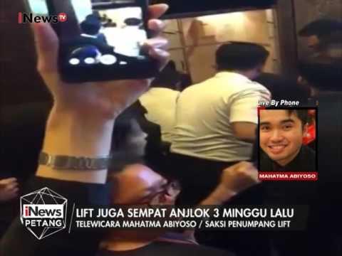 Live by Phone : Kronologis jatuhnya lift gedung BRI II - iNews Petang 20/01