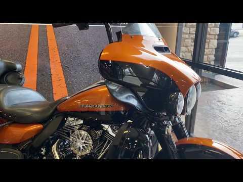 Amber Whiskey/Vivid Black 2014 Harley-Davidson Electra Glide Ultra Limited FLHTK