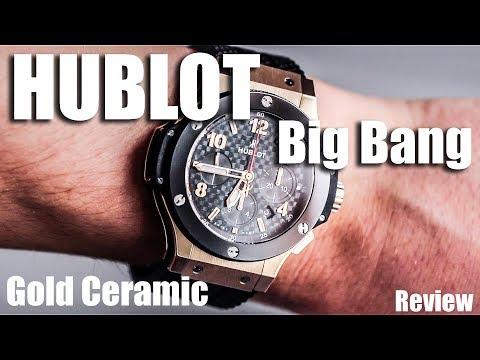 Hublot Big Bang Gold Ceramic Review