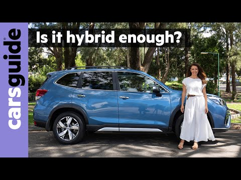 Subaru Forester 2020 review: Hybrid S