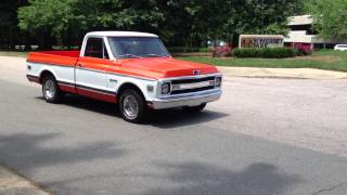 1970 Chevy C10 Resto Mod Short Bed For Sale! $22,500.00