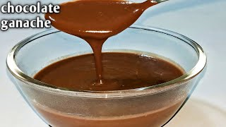 easy ganache recipe with cocoa powder