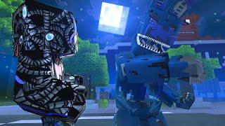 Minecraft FNAF 7 Pizzeria Simulator - MOLTEN FREDDY VS TWISTED BONNIE! (Minecraft Roleplay)