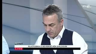 Debat- Platforma e qeverisë për dialogun