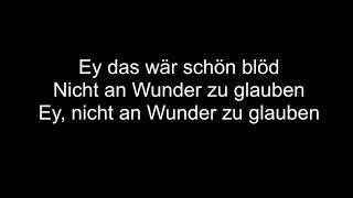 Wincent Weiss  An Wunder | Lyrics