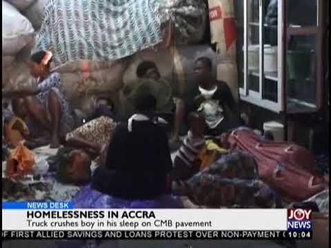 Homelessness In Ghana - News Desk on JoyNews (2-10-18)