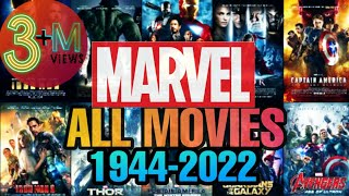 MARVEL ALL MOVIES ( 1944 - 2022 )