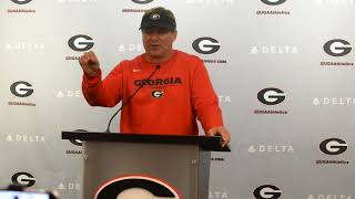 Kirby Smart: I thought we had a good practice today. August 15, 2018