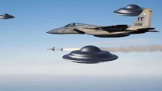Шок! Группа НЛО преследует самолет - реальные кадры 2018 (UFO)