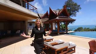 Luxurious Ultra-Private Sea View Villa for Rent in the Hills of Surin, Phuket