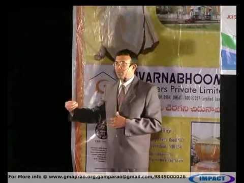 Guidance|BalaRama Varanasi|TELUGU IMPACT Hyd 2012