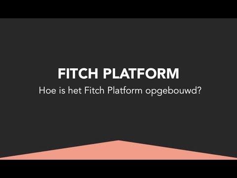 Opbouw van het Fitch Platform