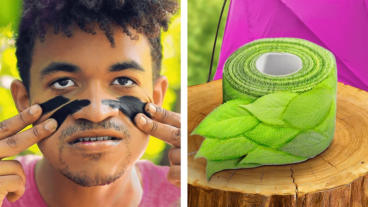 14 CLEVER CAMPING HACKS / TROOM TROOM WOW / YOUTUBE VIDEO ...