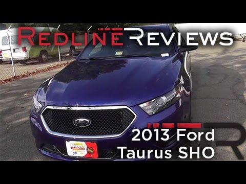 2013 Ford Taurus SHO Review, Walkaround, Exhaust, Test Drive