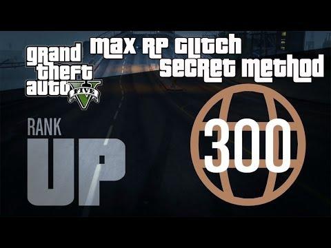 GTA 5 Online- Instant Max Reputation Glitch (Level 300 Super Fast