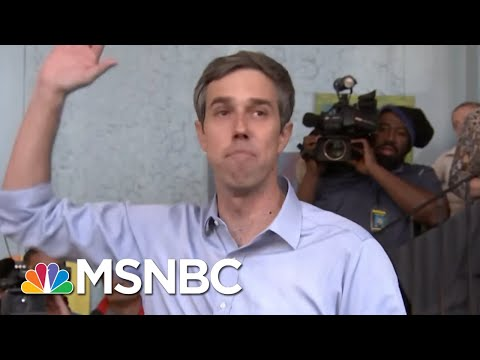 Beto O'Rourke On His '90s Arrests, Why U.S. Should End Cash For Bail System | Hallie Jackson | MSNBC
