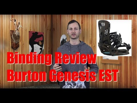 The 2019 Burton Genesis EST Snowboard Binding Review