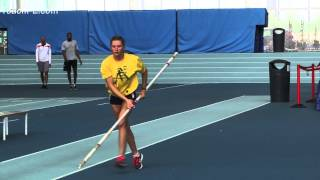 Pole Vault - Walking plant drill