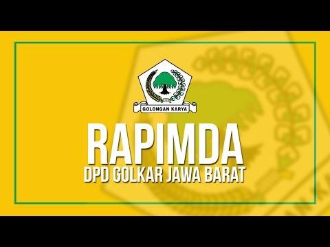 Rapimda DPD Golkar Jawa Barat