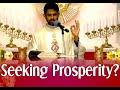 Fr Antony Parankimalil VC - Seeking Prosperity?