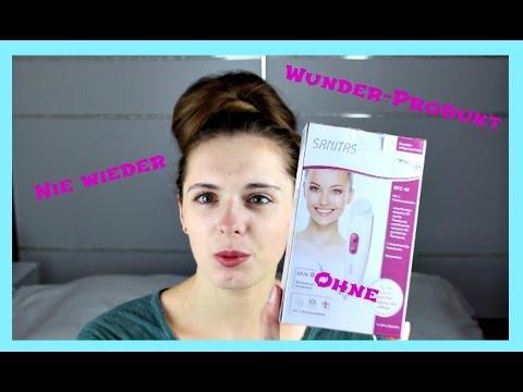 Review zur Gesichtsreinigungsbürste SANITAS | Beautyyjen
