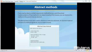 How to implement an abstract method in Java?