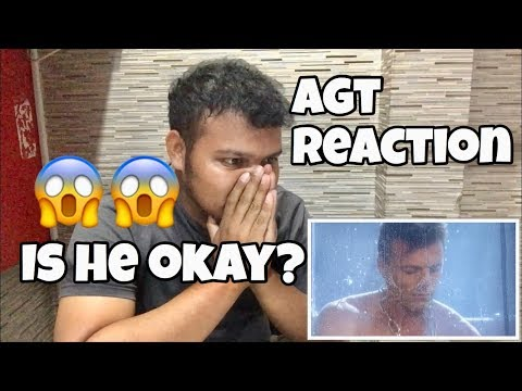 Lord Nil: Man Underwater Struggles To Escape To Save Fiance - America's Got Talent 2018 REACTION (видео)
