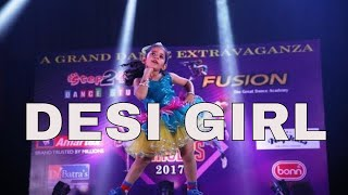 Chittiyan Kalaiyan | Baby Doll | Desi Girl | Dance Performance By Small Girl On Bollywood Songs