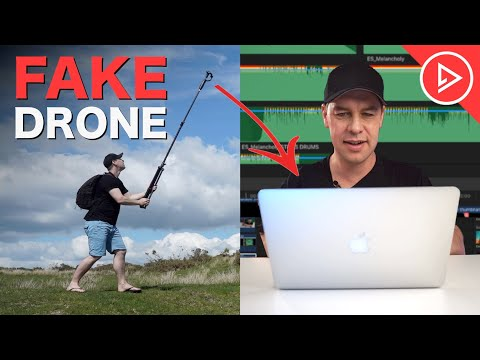 How To Edit FAKE DRONE Footage   Editing Tips For Cinematic Films & Videos