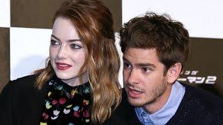 <b>Andrew Garfield Admits He </b>& ExGirlfriend Emma Stone Got High On His 29th Birthday At Disneyland