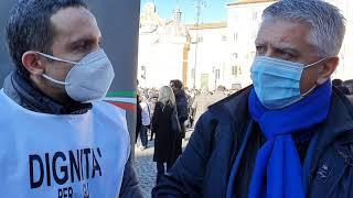 Senatori Massimo Mallegni, Maurizio Gasparri e Dario Damiani