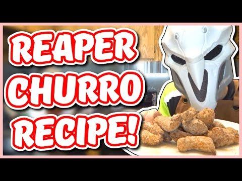 Overwatch - REAPER CHURRO RECIPE (Chef You Wack)