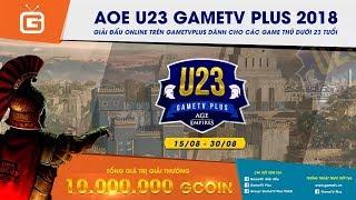 AOE   4vs4 Random   GameTV vs Hà Nội   Ngày 04-09-2018
