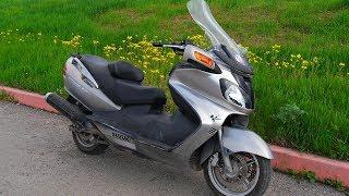 Suzuki Burgman (SkyWave) 650 Ремонт, обзор.
