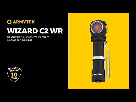 Armytek Wizard C2 WR – impressive red and white output in one flashlight
