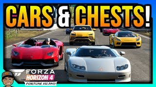 Forza Horizon 4: Unlock All Cars & All Treasure Chests!