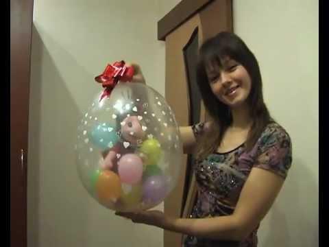 Как упаковать шарики в большой шар
