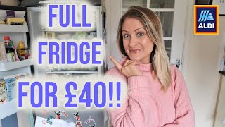 £40 Budget Aldi Grocery Haul & Meal Plan - Family Of 4 Week Of Meals! How I Save Money On Groceries!