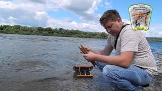 Ловля рыбы на кораблику