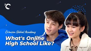 youtube video thumbnail - What's It Like to Study at an Online High School? | Crimson Global Academy