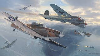 Timelapse Aviation Art - Defiants Over Dunkirk